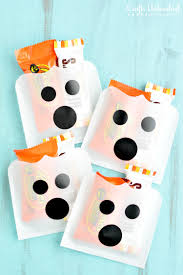 halloween ghost crafts diy ghost treat holders for halloween crafts unleashed