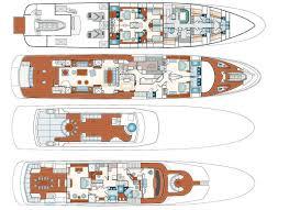 layout benetti motor yacht yacht superyachts com