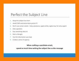 Subject Line For Resume Submission Email Resume Subject Lukex Co