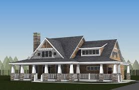 storybook country house plan with sturdy porch 18289be
