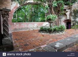 mexican hacienda in cuernavaca mexico stock photo royalty free