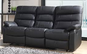 canape relaxation cuir canape relax electrique en cuir 3 2 places coloris gris silvano