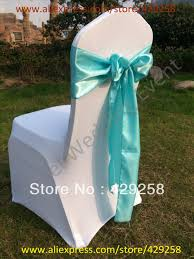 blue chair sashes russian free shipping 100pcs satin sash chair sashes chair bow