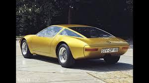 1973 buick opel opel gt w geneve concept