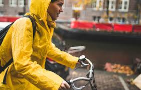 raincoat for bike riders 10 tips for riding in the rain active