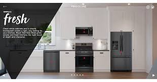 The Kitchen Collection Llc The New Frigidaire Gallery Smudge Proof Black Stainless Steel