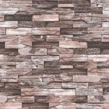 baru tiba desain bata pvc wallpaper 3d batu merah dan putih bata