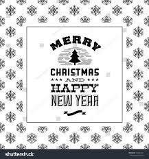 vintage christmas background fir tree snow stock vector 163644251