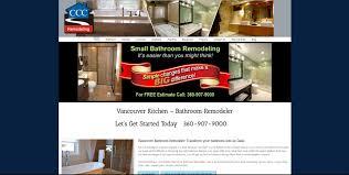 home remodeling website design ccc remodeling u2013 northwest web creation company