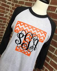 vols shirt tennessee shirt monogram football shirt