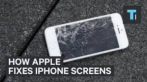 this is how apple repairs broken iphone screens youtube