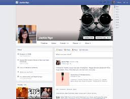 new profile page from facebook u203a patterntap profile pages