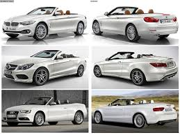 bmw 4 series convertible vs mercedes benz e class vs audi a5