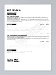 Free Resume Templates Microsoft Word Download Resume Template Word 2003 Download