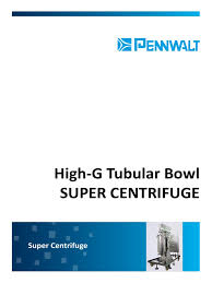 penwalt super centrifuge brochure emd centrifuge turbine