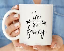 Fancy Coffee Mugs Fancy Mug Etsy