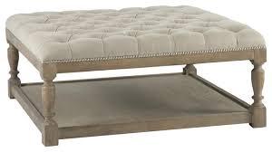 gray leather ottoman coffee table brilliant gray leather ottoman round cream leather ottoman small