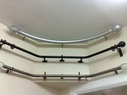 Metal Pipe Curtain Rod Decorating Astonishing Curtain Rods Home Depot Create Outstanding