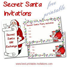 the 25 best secret santa invitation ideas on pinterest