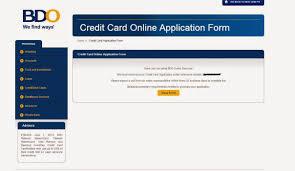simple j bdo credit card online application