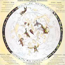 mincing mockingbird guide to troubled birds ojibwe giizhis anung masinaagan ojibwe sky star map 30 60 for