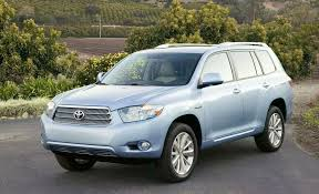 toyota highlander hybrid 2009 2009 toyota highlander hybrid review reviews car and driver