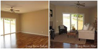 home staging atlanta living room before and after pictures before