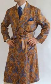 robe de chambre en soie robe de chambre classique pour homme en 100 soie twill imprimee