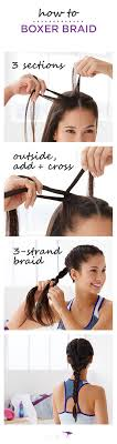 freeze braids hairstyles how to boxer braid the perfect hairstyle for running boxing