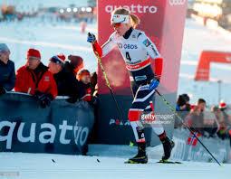 norwegian ragnhild haga competes in the women u0027s cross country
