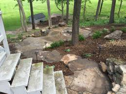 awesome picture of wooded backyard ideas catchy homes interior