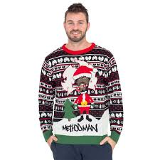 christmas sweaters method as santa with candy christmas sweater