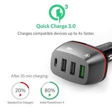 Anker Dual Port Car Charger Anker Mobile Phone Car Charger Ebay