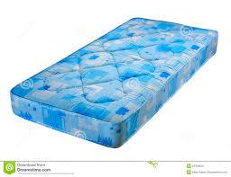 Mattress Bed Blue Bed Mattress Stock Photo Image 33438650