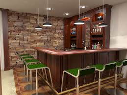awesome white brown wood stainless glass modern design home bar