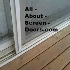 Your Sliding Door Screen And How To Fix It If It U0027s Broken