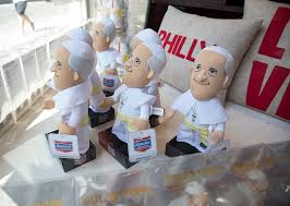 pope francis souvenirs cheesy snuggly silly and serious