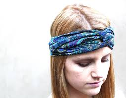 knotted headband headband knotted headband teal black purple pink on luulla