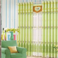 Light Green Curtains Decor Projects Inspiration Light Green Curtains Cotton Fabric Beautiful