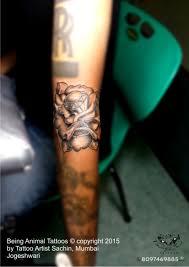 rose diamond tattoo by tattooartist sachin design by