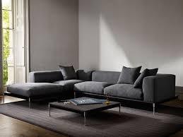 sofa l shape savile modular l shape sofa charcoal david linley mobilya