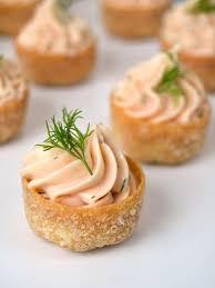 site de canape tartaletas de mousse de salmón canapes tapas and catering