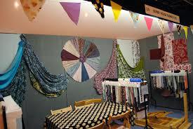 leanne laura craft and stitch fair nec birmingham fabric display