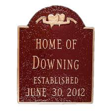 personalized wedding plaque personalized wedding plaque