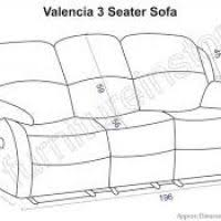 Standard Sofa Length by 3 Seater Sofa Dimensions Perplexcitysentinel Com