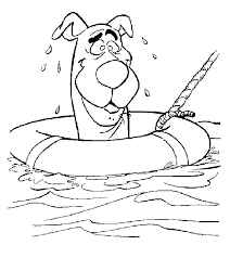 pin kimberly kinsey scooby doo coloring pages