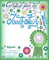 blank purple tooth fairy certificate rooftop post printables