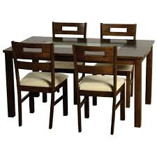 Dining Room Chairs Set Of 4 Glass Dining Room Sets For 4 Jcemeralds Co