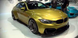 bmw m4 widebody vorsteiner gtrs4 body kit for the bmw m4 is wide at sema 2014
