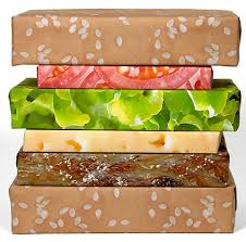 cheese wrapping paper cheese burger wrapping paper